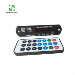 DC 12V/5V Optional Car MP3 Player Module with USB/SD Audio Module
