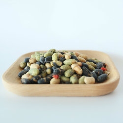 100% Natural Snacks Salted Roasted Edamame/Black Bean/Soybean with Raisin Goji Berry