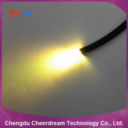 42 Core PMMA Plastic 0.75mm End Glow Fiber Optic Cable for Lighting