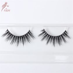 Cheap 3D Artificial Mink Fur Eyelashes with Customized Lash Packaging