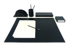 Leather Desk Organizers, Meeting Pad, Stationery Box (PB110)