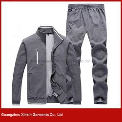 2017 Latest Design Nylon Grey Sport Track Suits Wear for Men (T69)