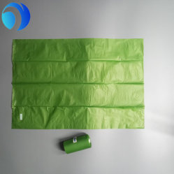 Wholesale Custom Printed HDPE LDPE PE PLA Pbat Corn Starch Platic Boxed Portable Scented Color Small Environment Compostable Biodegradable Dog Poop Bags on Roll