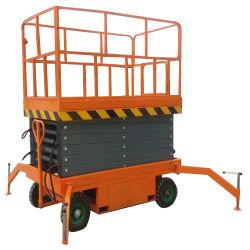Sjy0.3-8 8m Mobile Hydraulic Scissor Lifting Platform
