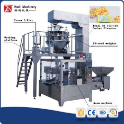 Popcorn Microwave with Special Paper Bag Filling and Packing Machine