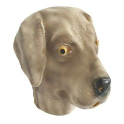 Latex Animal Realistic Bull Dog Labrador Pit Bull Basset Hound Props Party Masks