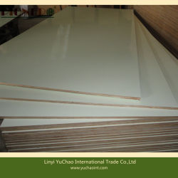Full Hardwood Core E1 Grade White Color HPL Plywood
