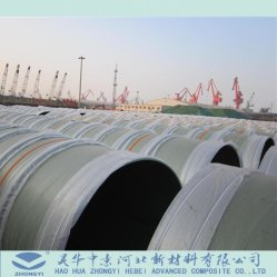 Dn25-4000mm Series GRP FRP Pipe for Sea Water
