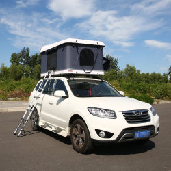 SUV Car Fiberglass Hard Shell Roof Top Tent for Camping Trailer