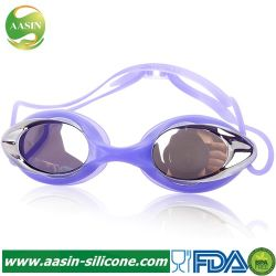 c96f2e621563 Innovative Wholesale Cheap Professional Competitive Silicone Mirror Coated  swimming Eyewear Swimming Goggles