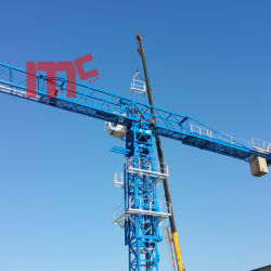 Flat Top Mt7527-20t: New Designed Model with 75m Jib Tower Crane
