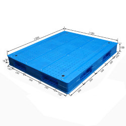 Wholesale High Quality Steel Reinforced for Warehouse Plastic Pallet