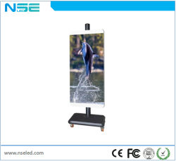 Outdoor Waterproof Street Light Pole LED Display Board/ Advertising Poster LED Display