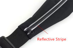 OEM Waterproof Reflective Outdoor Sport Running Belt Waist Bag