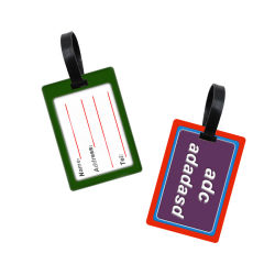 Cheapest Price Personalized Custom Soft PVC Travel Luggage Tag
