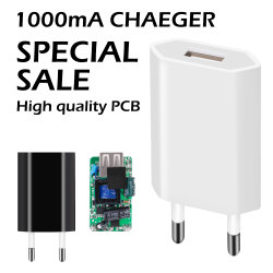 Semi-Finished Products 1A USB Charger Adapter Charger Shell Charger PCB