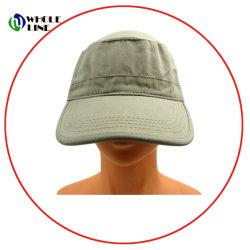14604ab3711 Custom Blank 5 Panel Flat Bill Cotton Camp Baseball Cap