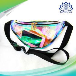Women Ladies Fashion Bag Shoulder Bag Travel Bag Waist Bag with Cool and Laser Design for Outdoor Sports