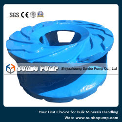 High Chrome Alloy Wear Resistance OEM Centrifugal Slurry Pump Spare Parts, Volute, Impeller China