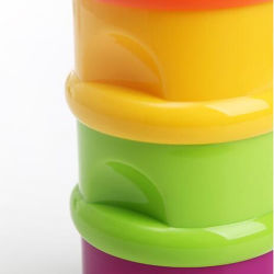 High Quality Plastic Containers for Protein Milk Powder