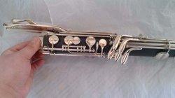 Music High-Grade Professional Bb Key Bass Clarinet