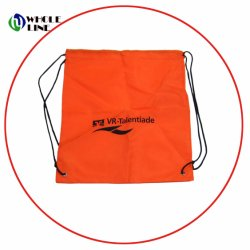 Custom Promotional Gift Sports Gym Sack Backpack Drawstring Polyster Bags