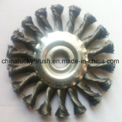 Steel Wire/Brass Wire Wheel Brush for Grinding (YY-335)