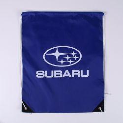 Custom Made Soccer Nylon Sports Drawstring Gift Bag