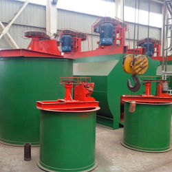 Gold Double Impeller Cyanide Leaching Tank