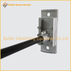 Metal Street Light Pole Advertising Flag Base (BS-BS-045)
