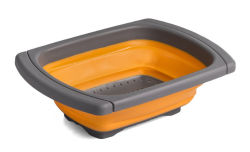 Silicone Folding Over-The-Sink Collapsible Colander