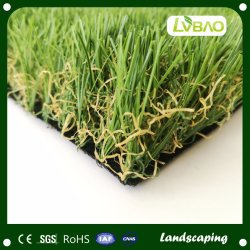 W-Shape 35mm Landscape Artificial Grass for Home Decoration