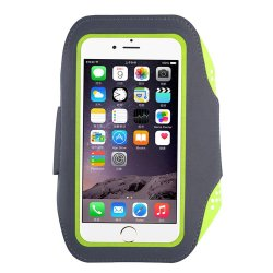 Teammao Phone Sports Armband, Waterproof Running Exercise Armband with Case Holder & Key Holder for iPhone 7 7 Plus 6 6 Plus Samsung Galaxy S6 S7