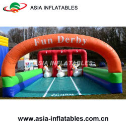 3 Lane Derby Race with Pony Hops