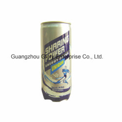 250ml Sport Drink with Taurine, Caffein, Rich Vitamins by P. P Tin and Aluminum Cap