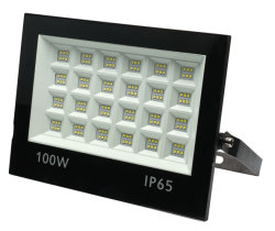 Promotion Outdoor IP65 Waterproof Project Reflector Slim 100W LED Floodlight