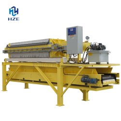Mining Equipment Automatic Chamber Filter Press of Mineral Processing Plant