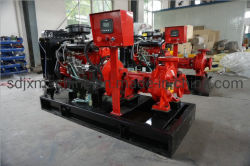Diesel Engine Fire Pump Unit Fully Automatic Emergency Single-Stage Single-Suction Centrifugal Pump Equipment Manufacturer