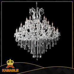 China chandeliers chandeliers manufacturers suppliers made in decoration hotel project crystal chandelier light ka2049 36l aloadofball Choice Image