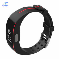 P3 Smart Band Support ECG+PPG Blood Pressure Heart Rate Monitoring IP67 waterproof Pedometer Sports Fitness Bracelet