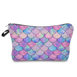 2020 Fashion Large Capacity Makeup Women Polyester Cosmetic Bag