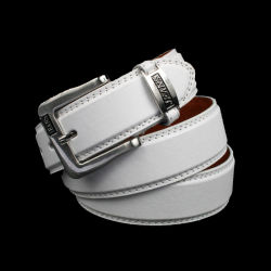 Men's Fashion PU Leather Jeans Belt China Manufacturer