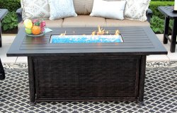 Propan And Nature Gas Fire Pit For Patio And Garden Furniture