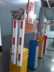 CE Electronic Boom Barrier Gate for Traffic Parking Lots (BS-306) AC or DC Motor