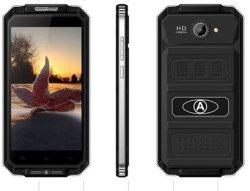 "V6+ 4800mAh Android 5.1 5.0"" 8GB RAM Anti-Dust Drop-Proof Smart Phone V6 Army Green"
