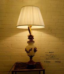Factory Price Wholesale Brass Ceramics Desk Lamp (TA-0721-1)