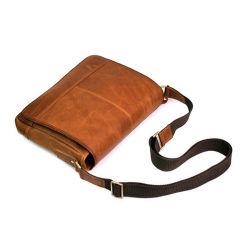 Cheap Price Retro Style Sport Leather Shoulder Bag Messenger Bag for Men