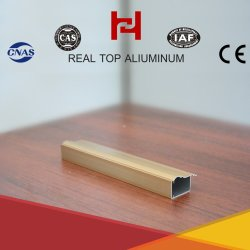 Aluminium Profile Window Wood Stria