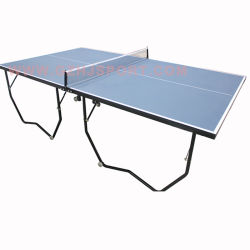 6b6cf8eaefccf Cheap Standard Size Pingpong Table Foldable Indoor Table Tennis Table with  Wheel TM801