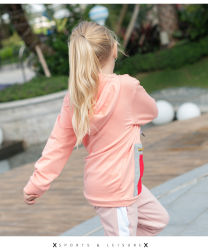 fashion Multi Colors Pullover Kid's Garment with Print at Front